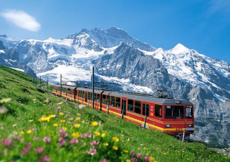 السياحة في بونتريسينا سويسرا