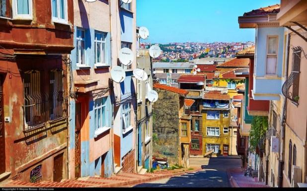 حركة المرور فى اسطنبول