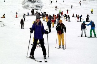 منتجعات التزلج في تركيا