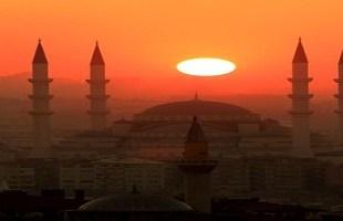 غروب الشمس في اسطنبول