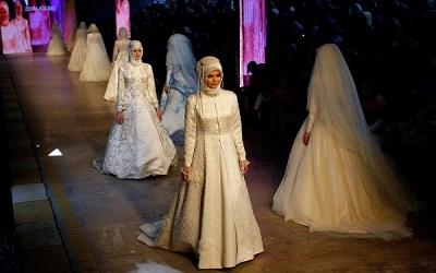 الازياء التركية الاسلامية