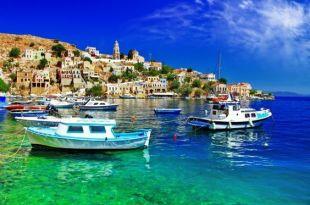 الجزر اليونانية القريبة من تركيا