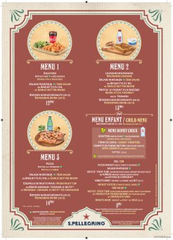 Colonel Hathi's Pizza Outpost menu