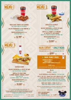Restaurant Hakuna Matata menu