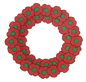 wreath template for kids # 25