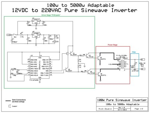 small resolution of wiring diagram inverter
