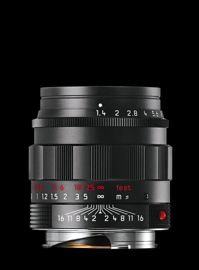 Leica SUMMILUX M50mm f/1.4 ASPH. black chrome