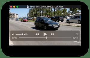 Panasonic G7 4K動画サンプル