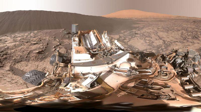 Full-Circle Panorama Beside 'Namib Dune' on Mars