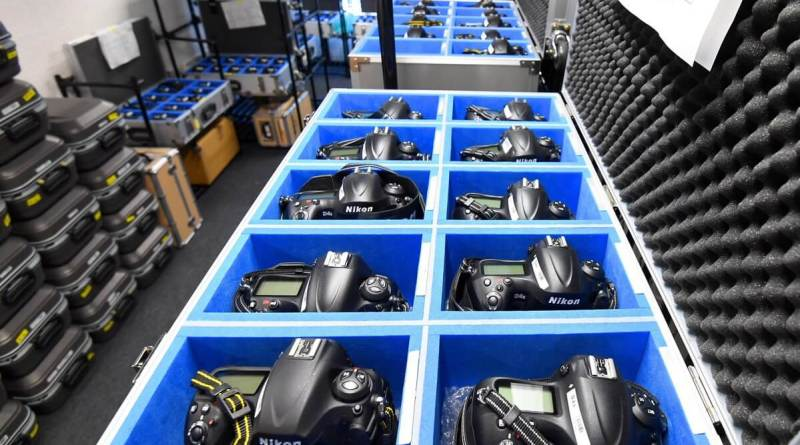 Nikon (NPS) stockpile at the 2016 Rio Olympic Games