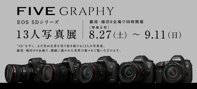 Canon FIVEGRAPHY