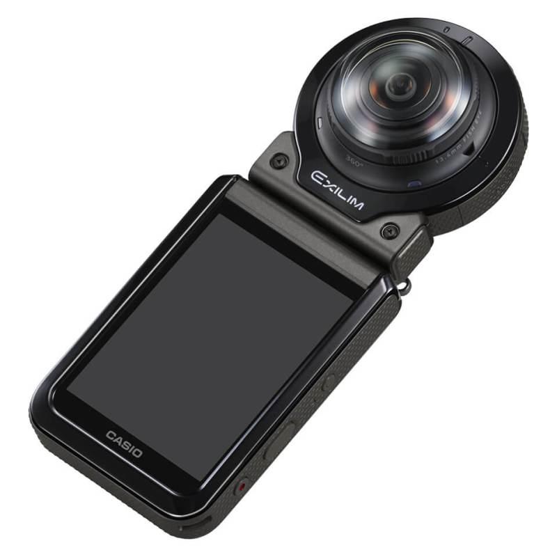 180度の全天周映像を記録できる「Outdoor Recorder EX-FR200」