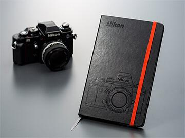 ND オリジナルノートブック Nikon F3デザイン(Moleskine)