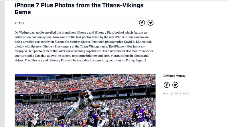 NFL iPhone7 Plus