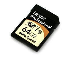 Lexar SD メモリカード