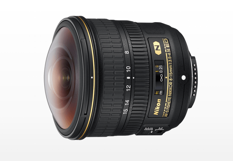 Nikon AF-S Fisheye NIKKOR 8-15mm f/3.5-4.5E ED