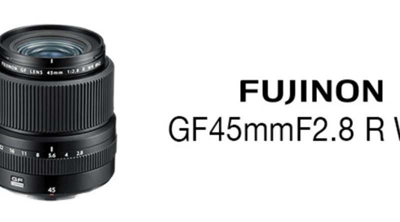 FUJIFILM フジノンレンズ GF45mmF2.8 R WR