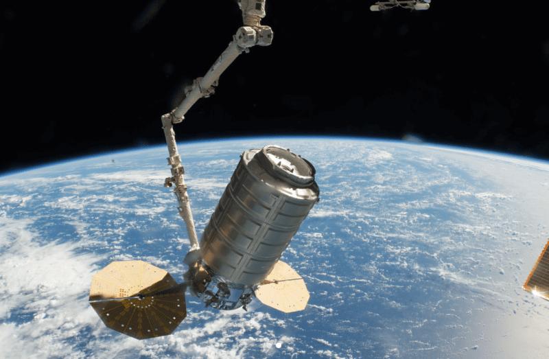 Nikon D5 ISS NASA shot