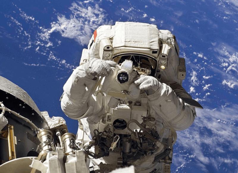 Nikon D5 NASA ISS