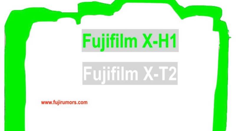 Fujifilm X-H1 Vs. X-T2 Size Comparison : Fujirumors