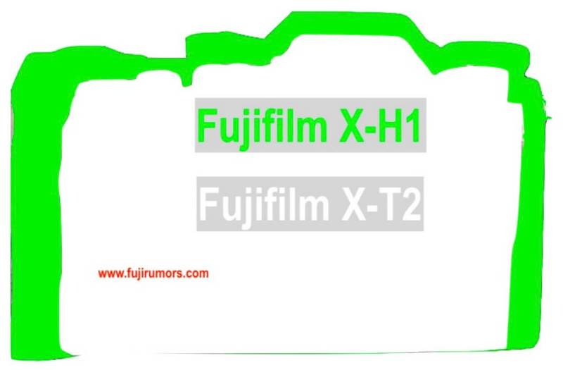Fujifilm X-H1 Vs. X-T2 Size Comparison : Fujirumors