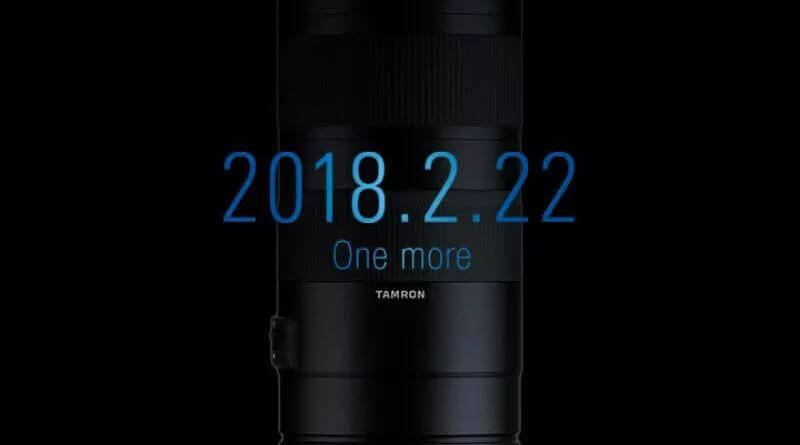 The new Tamron 70-210mm f/4 Di VC USD lens will be announced on February 22nd Read more: https://photorumors.com/2018/02/19/the-new-tamron-70-210mm-f-4-di-vc-usd-lens-will-be-announced-on-february-22nd/#ixzz57c00yrUR