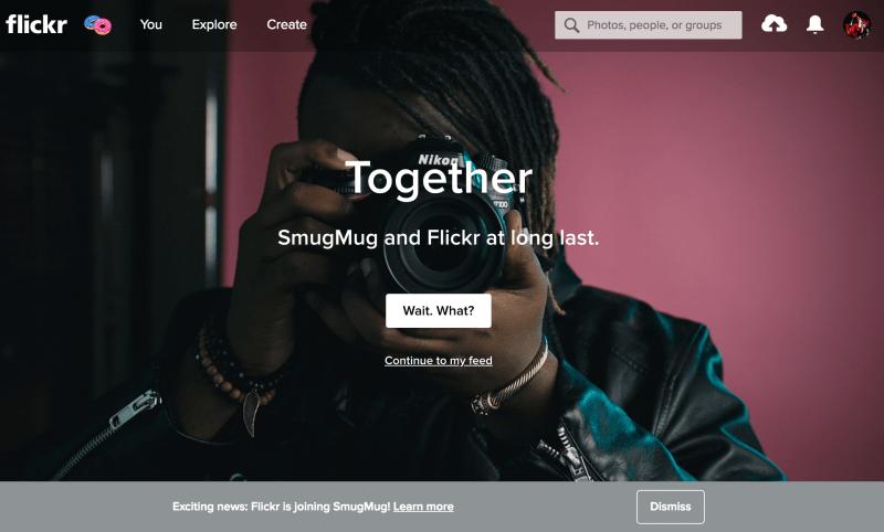 SmugMug + Flickr