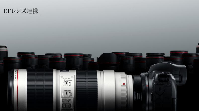 Canon EOS R EFレンズ連携