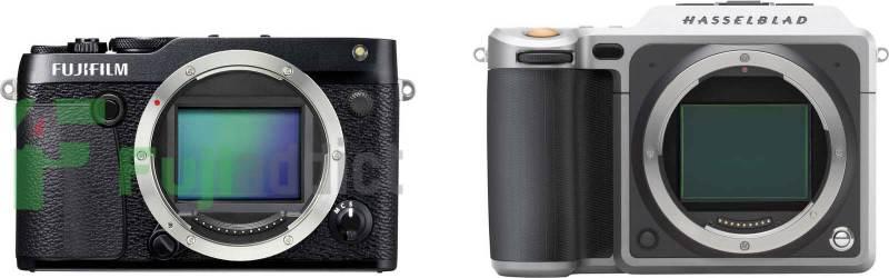 Fujifilm GFX 50R vs Fujifilm GFX 50S vs Hasselblad X1D
