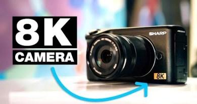 SHARP 8K マイクロフォーサーズカメラ
