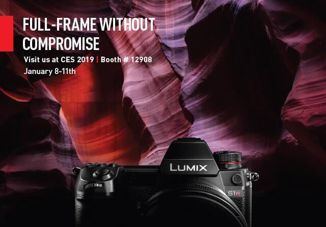 Panasonic S1/S1R CES Preview