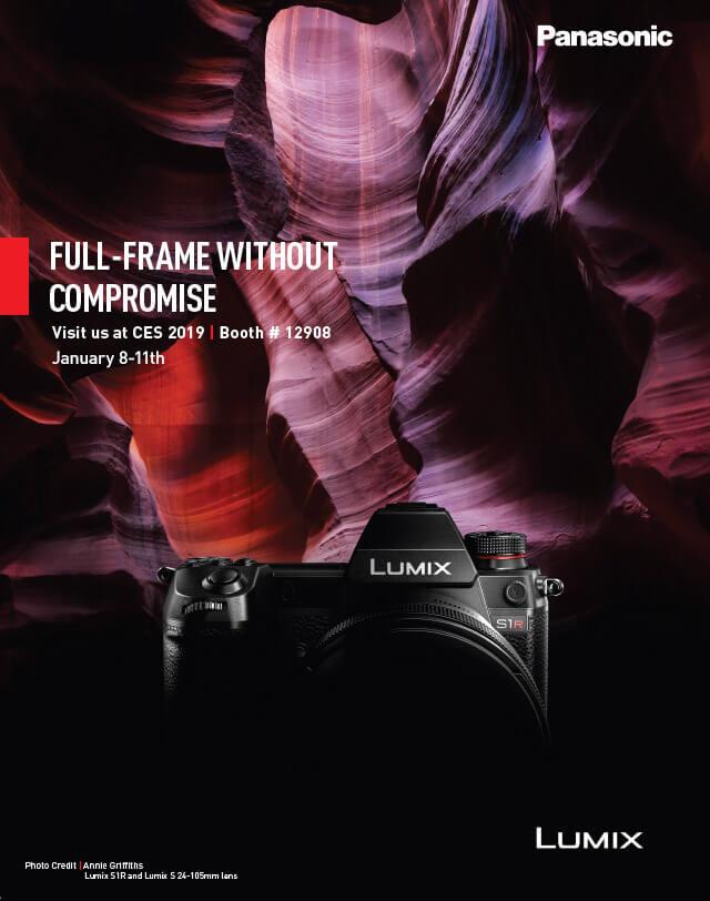 Panasonic S1/S1R CES Preview