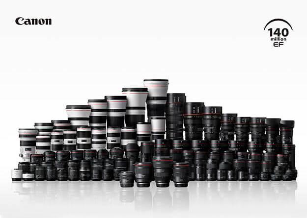 Canon EF lens 140M_