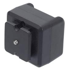 エツミ ホットシューアダプター カメラのホットシュー→シンクロ接点(PCタイプ)のみ E-6783