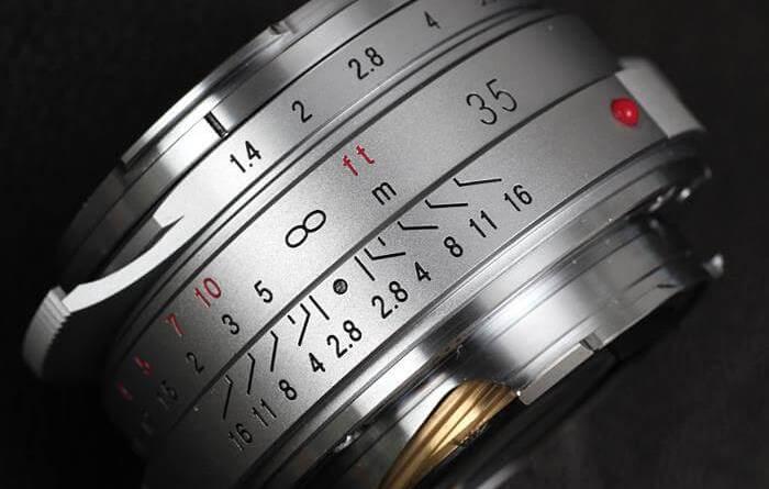 "Voigtlander NOKTON Classic 35mm F1.4 MC VM ""MapCamera 25th Edition"" マップカメラ"