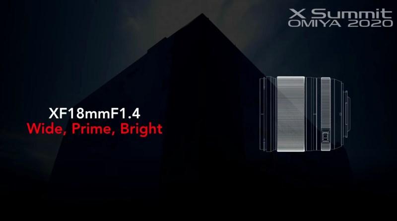 FUJIFILM XF18mm F1.4