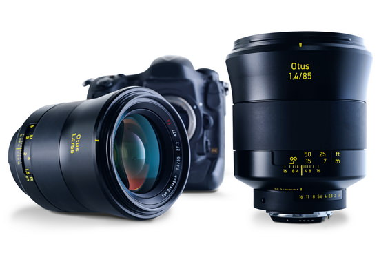 Zeiss Otus 85mm f/1.4 lens unveiled for full frame DSLRs