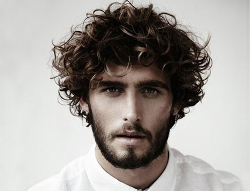 55 Men's Curly Hairstyle Ideas Photos & Inspirations