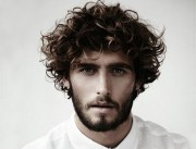 men's curly hairstyle ideas