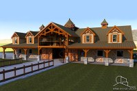 Horse Barn House - Architectural Designs