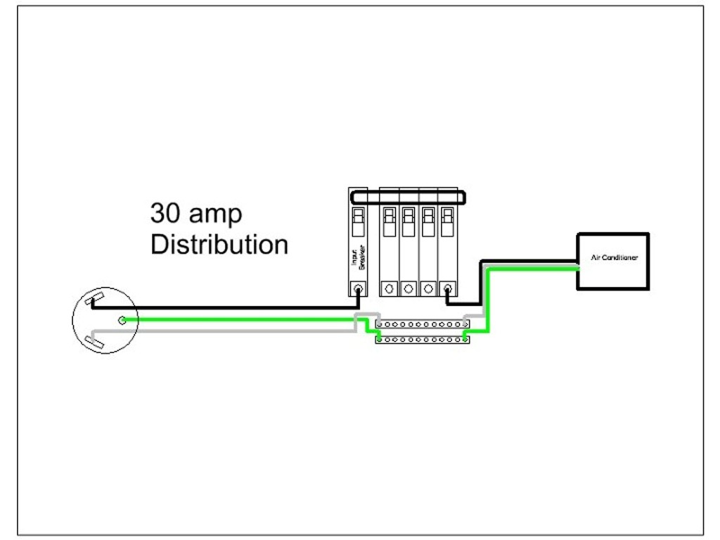 50 Amp 4 Wire Plug Wiring Diagram