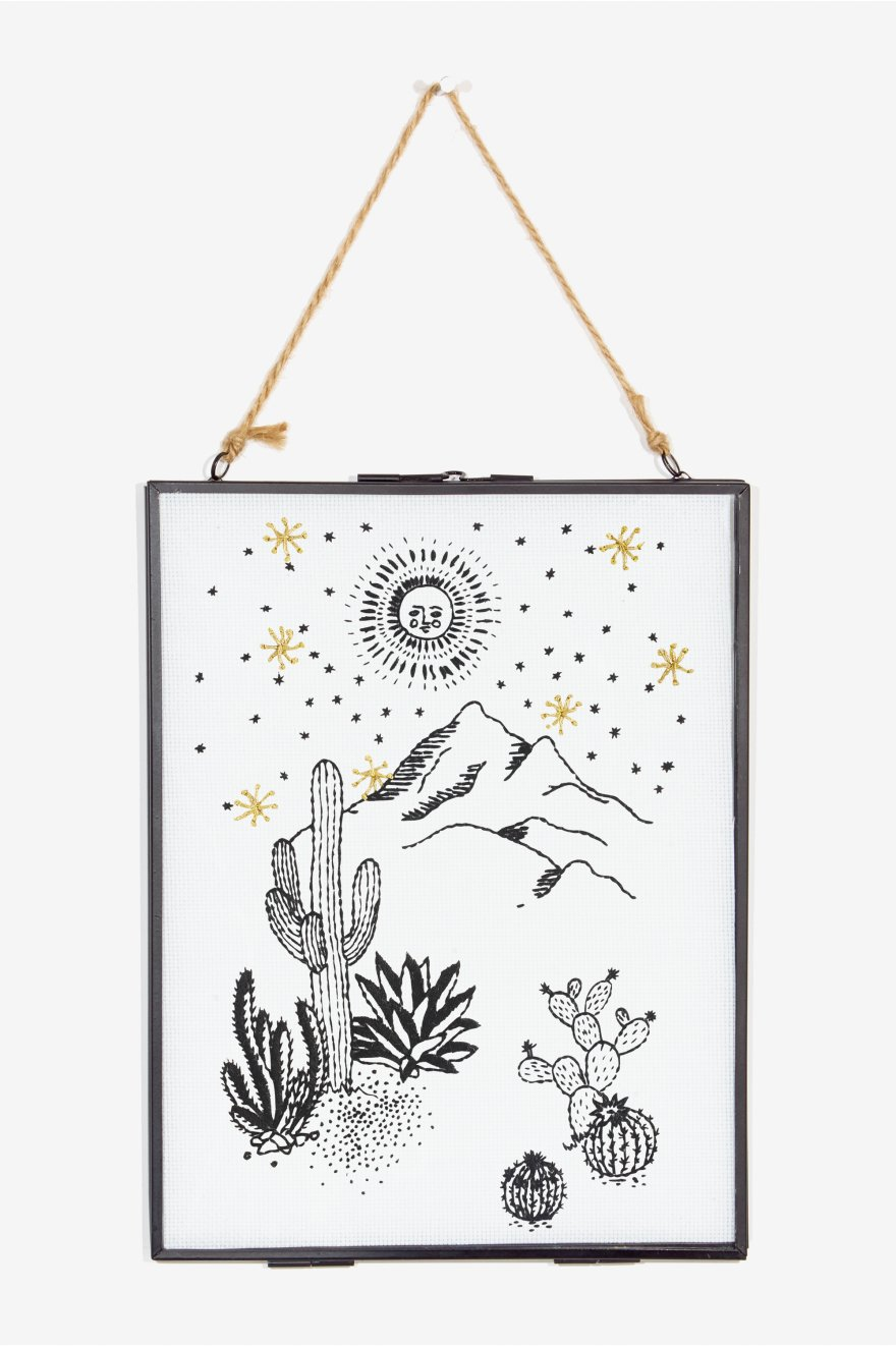 Under The Stars embroidery Pattern