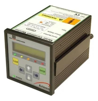 O monitor do MCM - Monitorização de Condição de Motores Elétricos