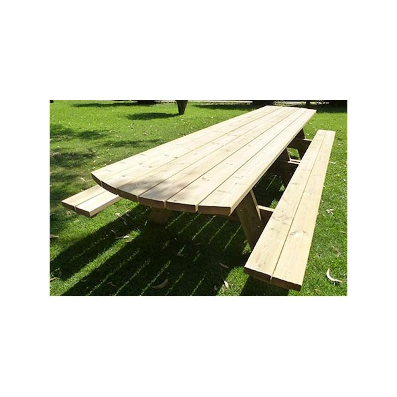 Grande Table De Pique Nique En Bois Grande Table De Pique