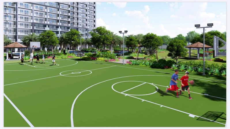 Sonora Garden Residences Basketball Court