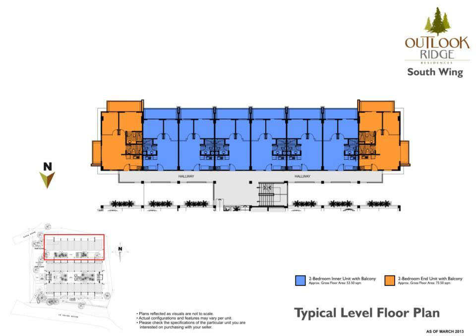 South Wing Building Layout