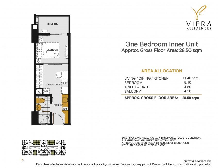 viera+unit+plan+1+bedroom