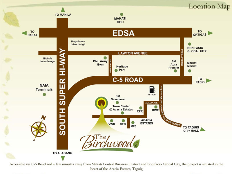 Birchwood Residences Location
