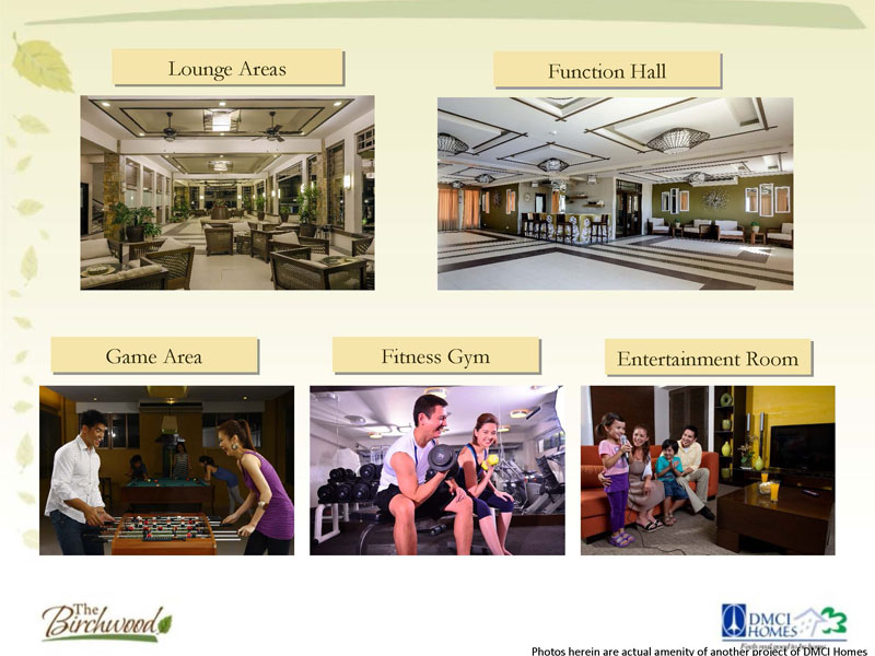 The Birchwood Residences Indoor Amenities