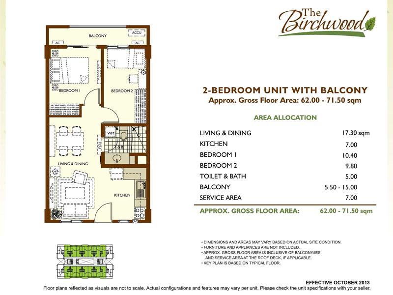 Birchwood Residences 2BR